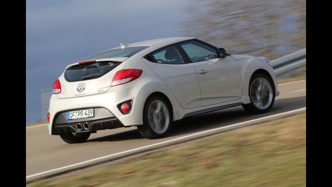 Hyundai Veloster, Heckansicht