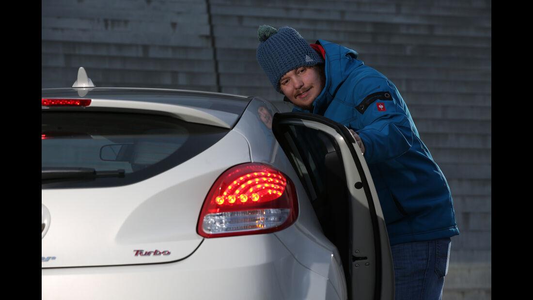 Hyundai Veloster, Luca Leicht