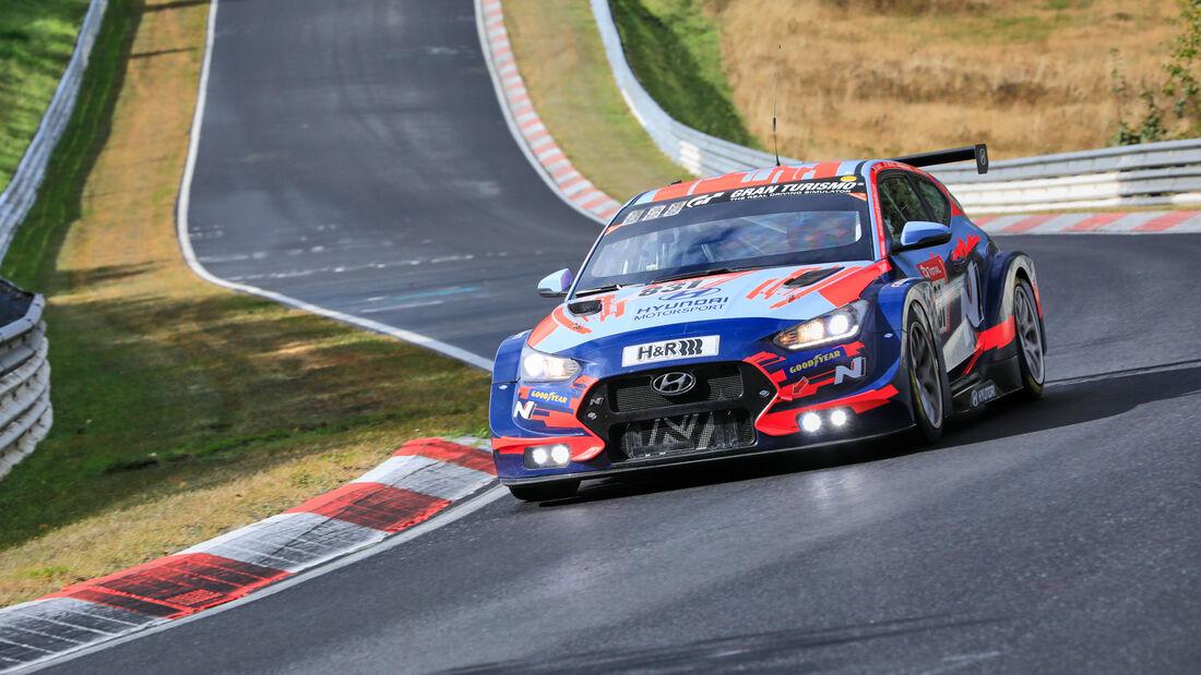 Hyundai Veloster TCR - Hyundai Motorsport N - Startnummer 831 - 24h Rennen Nürburgring - Nürburgring-Nordschleife - 25. September 2020