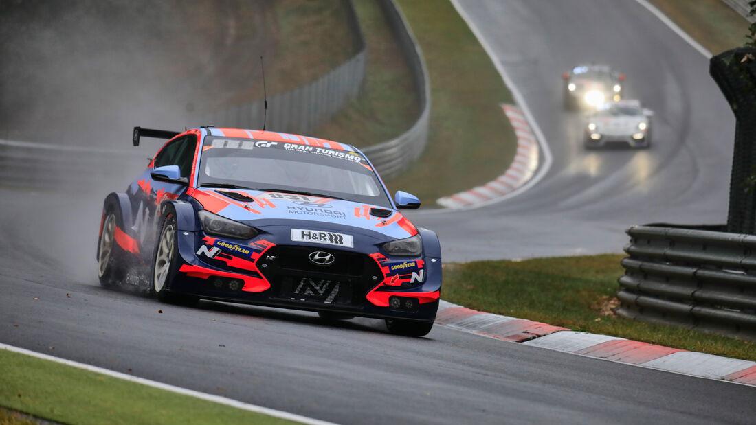 Hyundai Veloster TCR - Startnummer 831 - 24h Rennen Nürburgring - Nürburgring-Nordschleife - 26. September 2020
