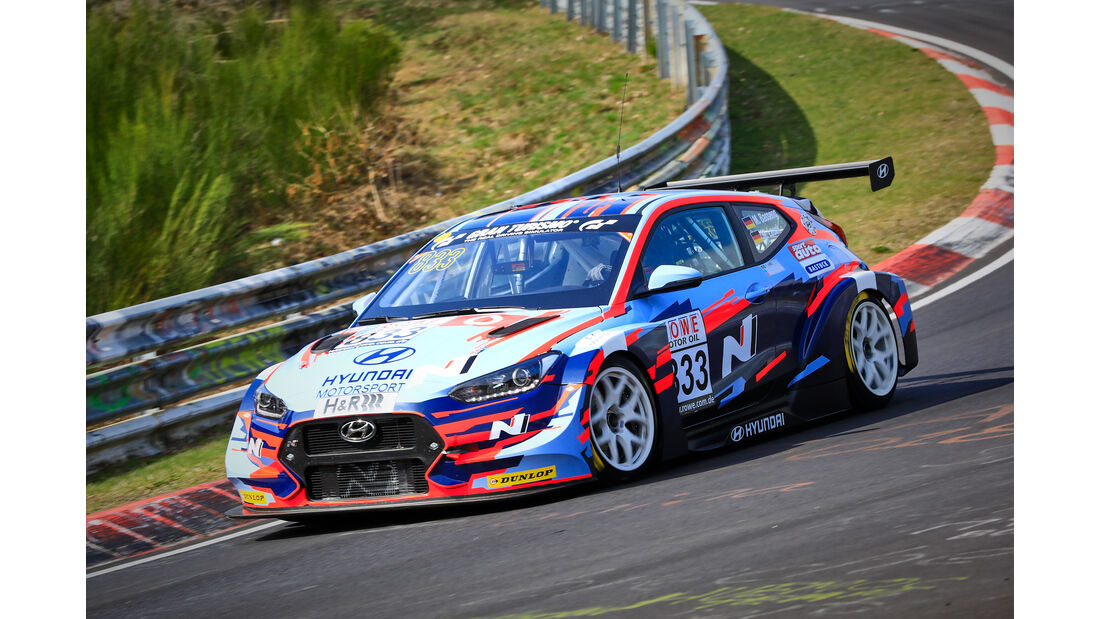 Hyundai Veloster TCR - Startnummer #833 - Hyundai Motorsport N - TCR - VLN 2019 - Langstreckenmeisterschaft - Nürburgring - Nordschleife