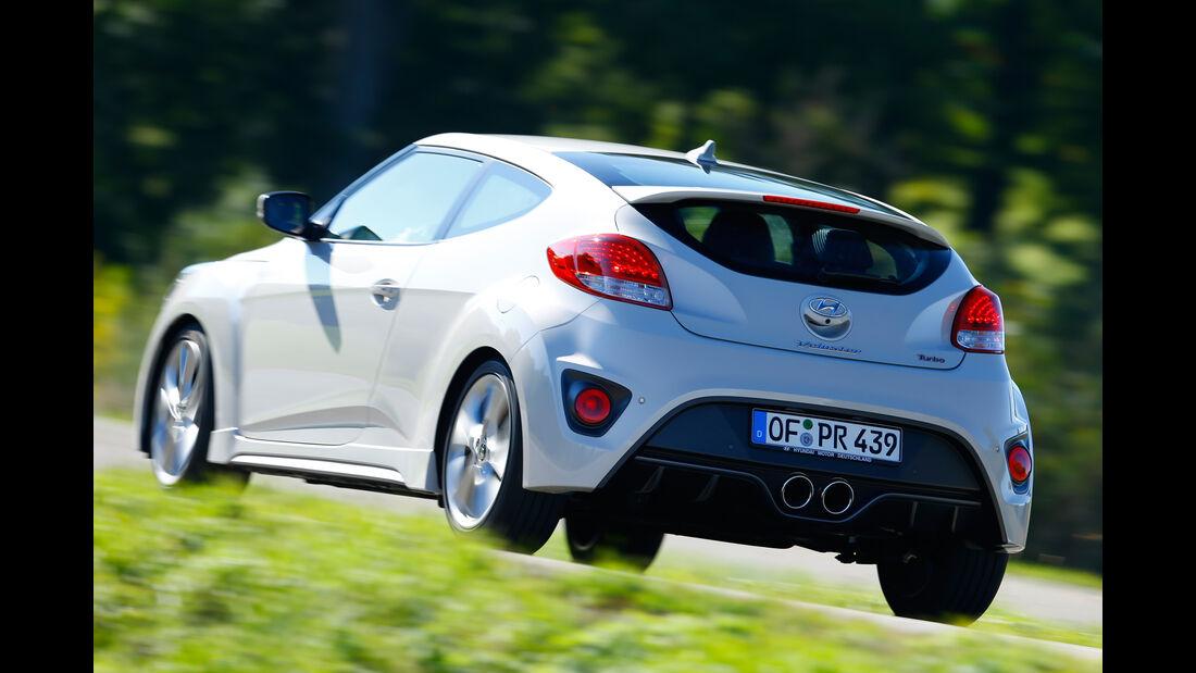 Hyundai Veloster Turbo, Heckansicht