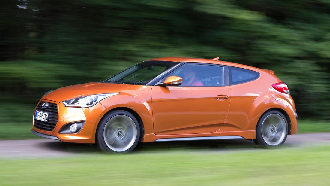 Hyundai Veloster Turbo, Seitenansicht