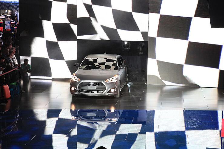 Hyundai Veloster Turbo auf der Detroit Motor Show 2013