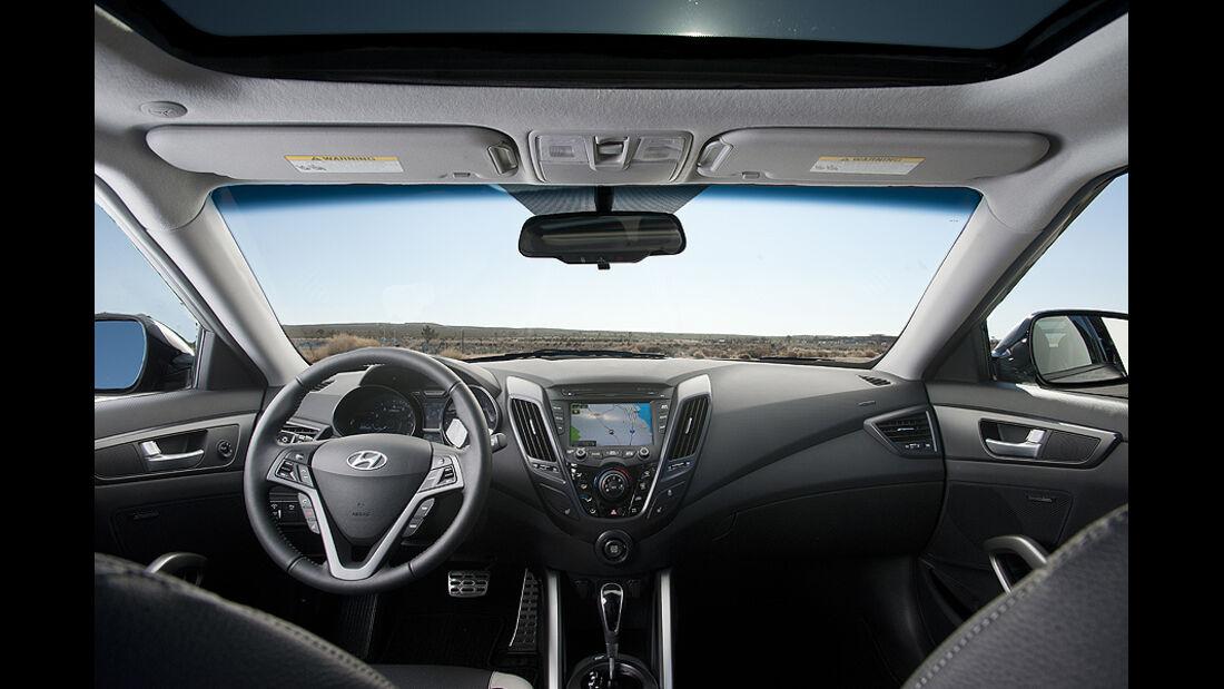 Hyundai Veloster Turbo auf der Detroit Motor Show 2016