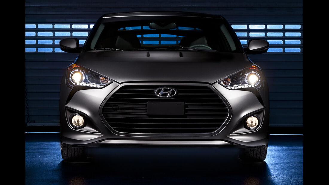 Hyundai Veloster Turbo auf der Detroit Motor Show 2021