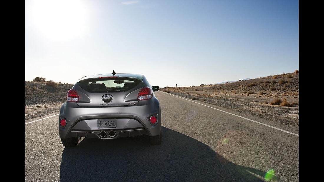 Hyundai Veloster Turbo auf der Detroit Motor Show 2022