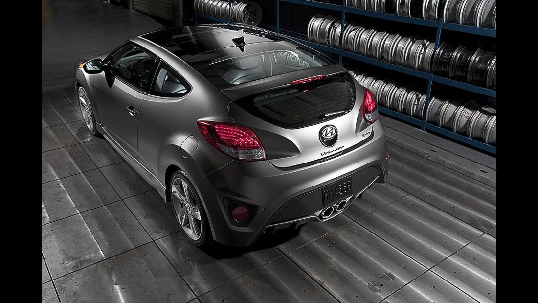 Hyundai Veloster Turbo auf der Detroit Motor Show 2024