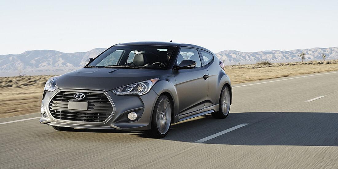 Hyundai Veloster Turbo auf der Detroit Motor Show 2025