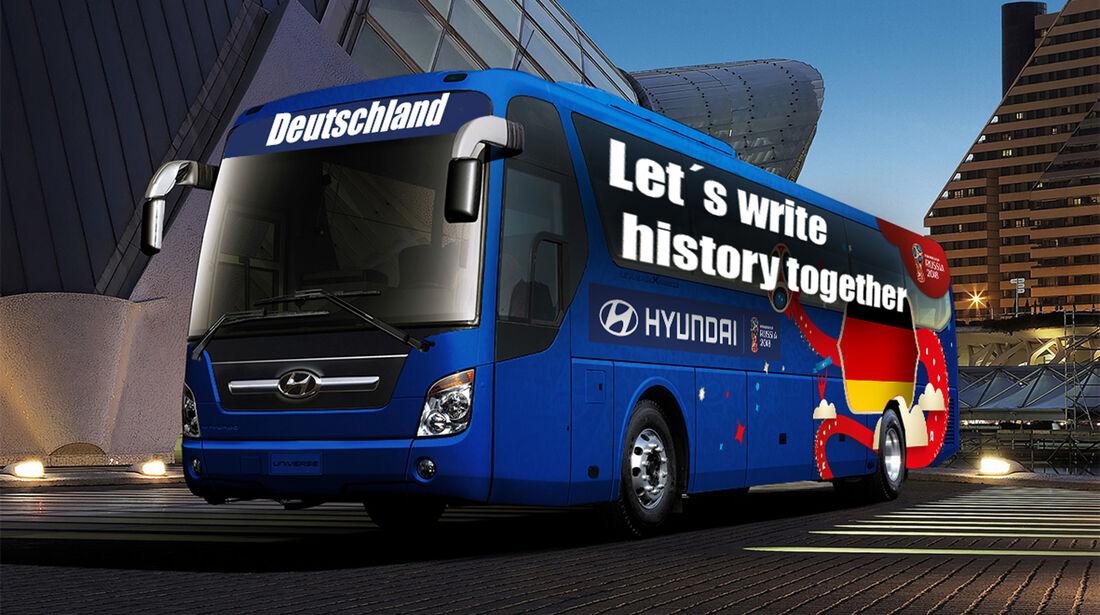 Hyundai WM-Busse Slogan Deutschland