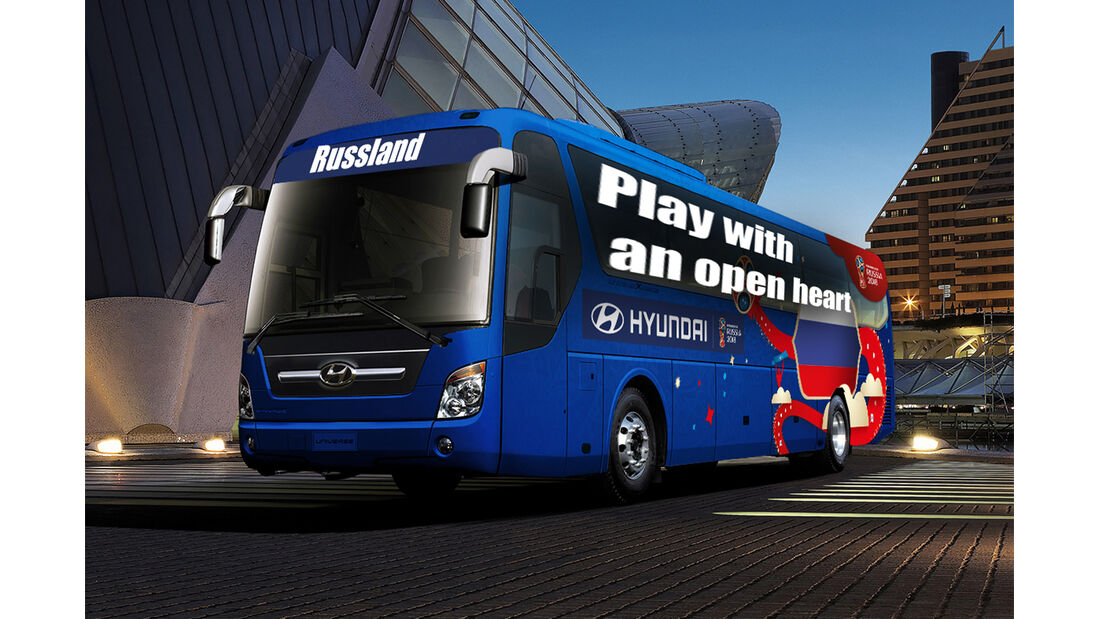 Hyundai WM-Busse Slogan Russland