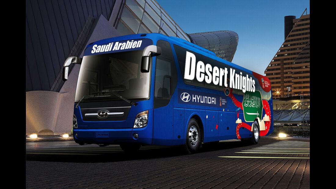 Hyundai WM-Busse Slogan Saudi Arabien