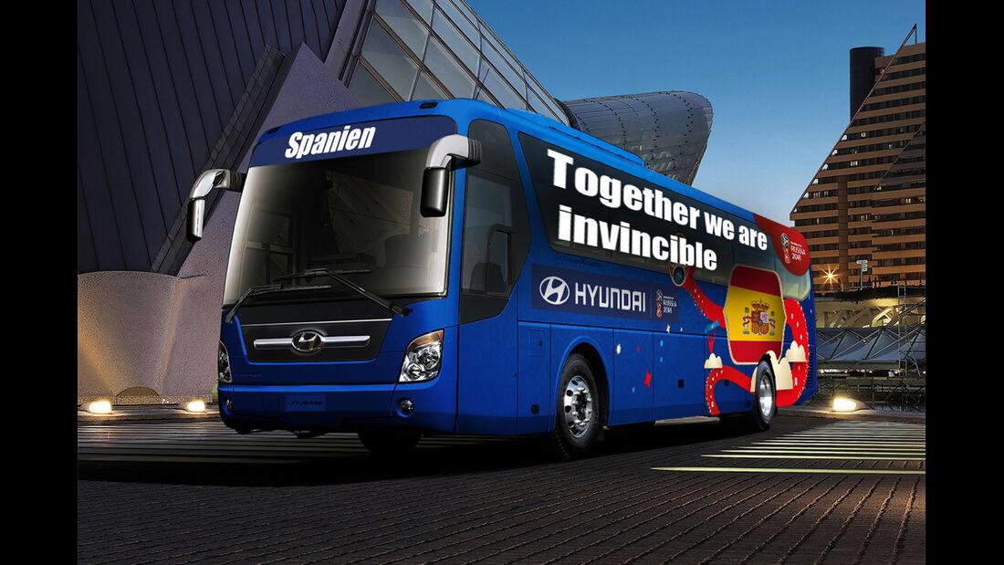 Hyundai WM-Busse Slogan Spanien