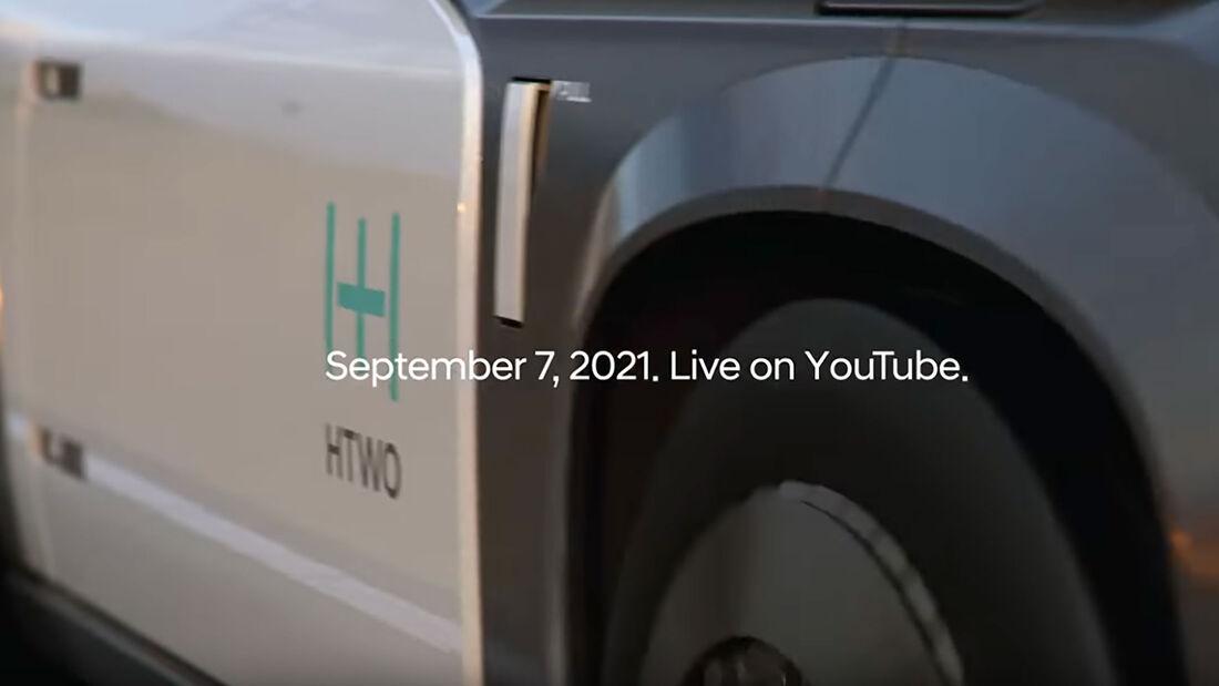 Hyundai Wasserstoff Teaser
