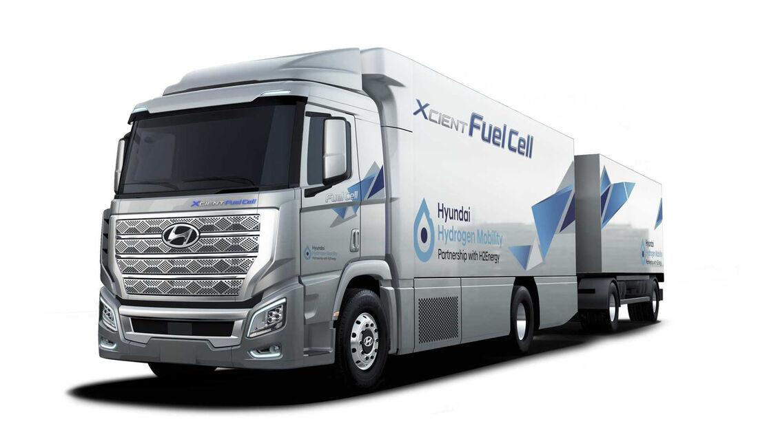 Hyundai XCient Brennstoffzelle Lkw