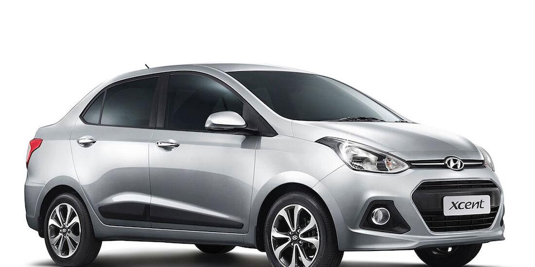 Hyundai Xcent Indien