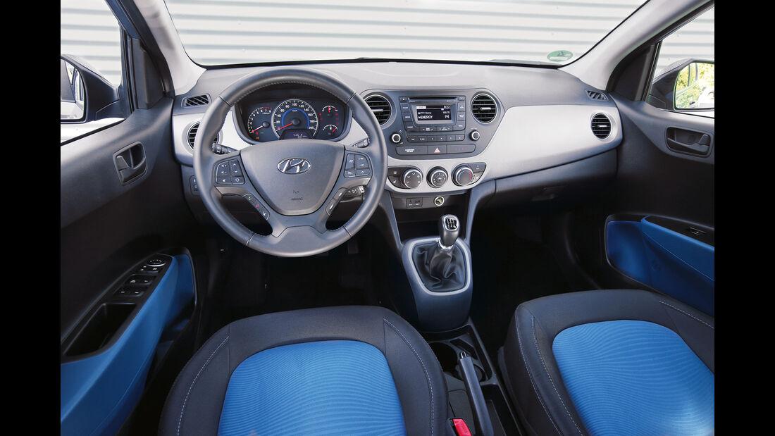 Hyundai i10 1.0, Cockpit