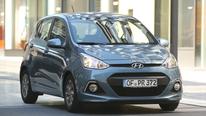 Hyundai i10 1.0, Frontansicht
