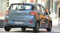 Hyundai i10 1.0, Heckansicht