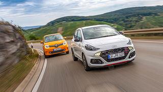 Hyundai i10 1.0 T-GDI N-Line, Renault Twingo Tce 90 Intens, Exterieur