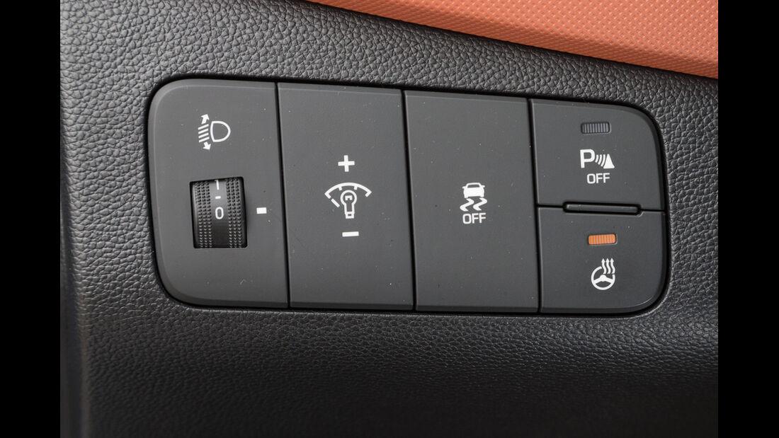 Hyundai i10 1.2, Bedienelemente