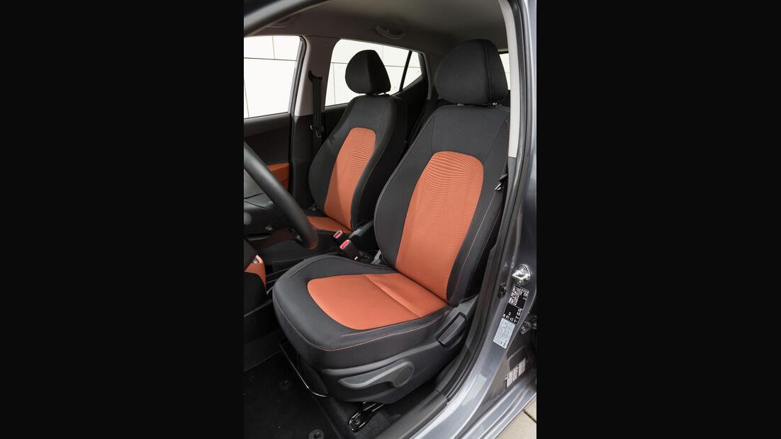 Hyundai i10 1.2, Fahrersitz