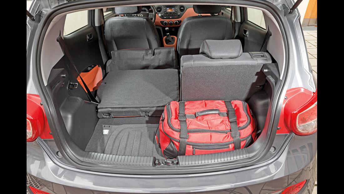 Hyundai i10 1.2, Kofferraum