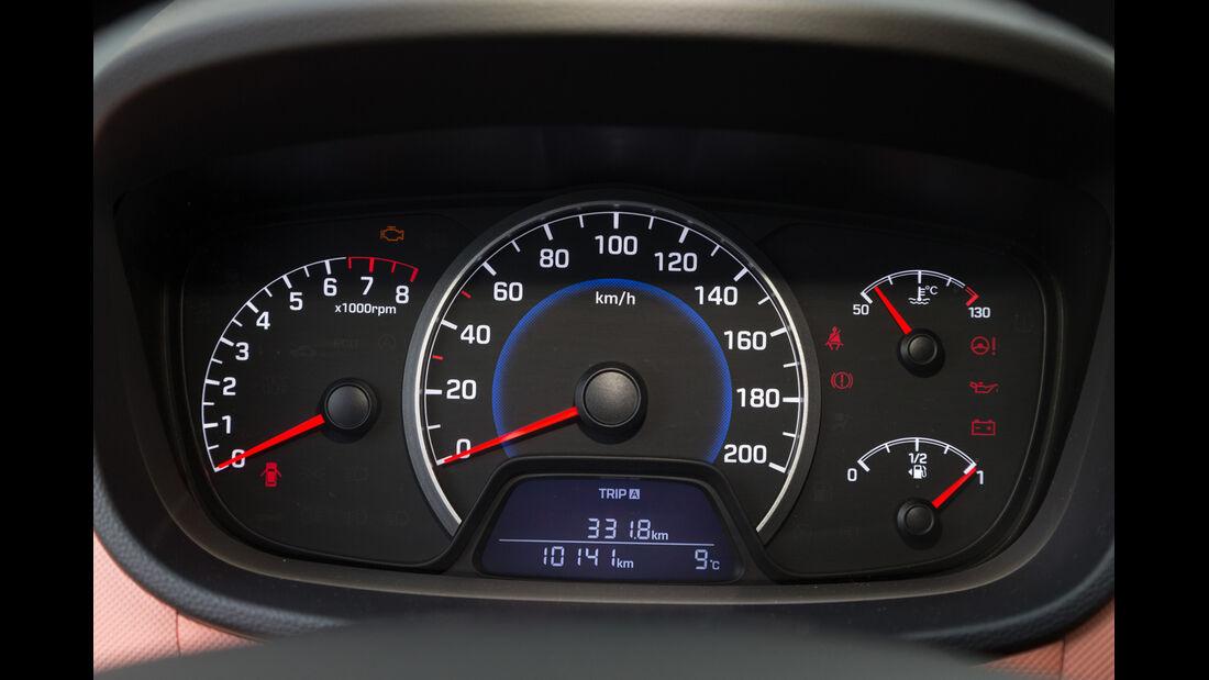Hyundai i10 1.2, Rundinstrumente