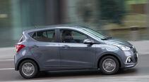 Hyundai i10 1.2, Seitenansicht