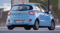 Hyundai i10 BLUE 1.0, Heckansicht