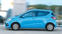 Hyundai i10 BLUE 1.0, Seitenansicht