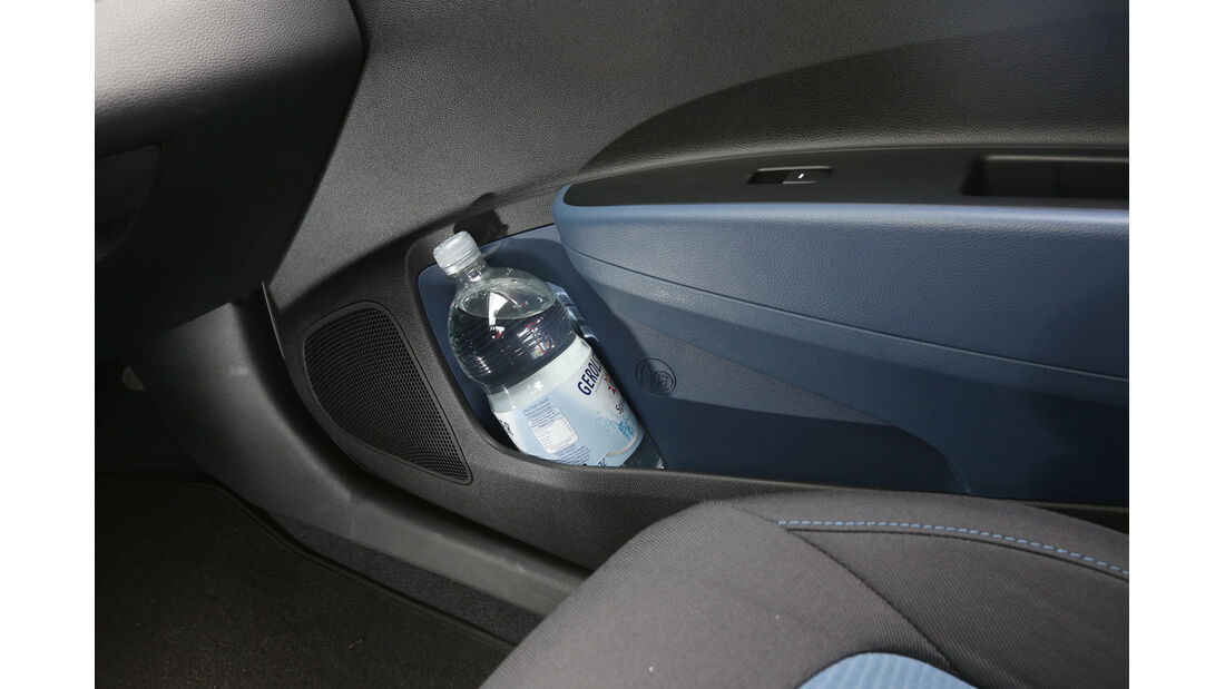 Hyundai i10 Blue 1.0, Ablage, Seitentür
