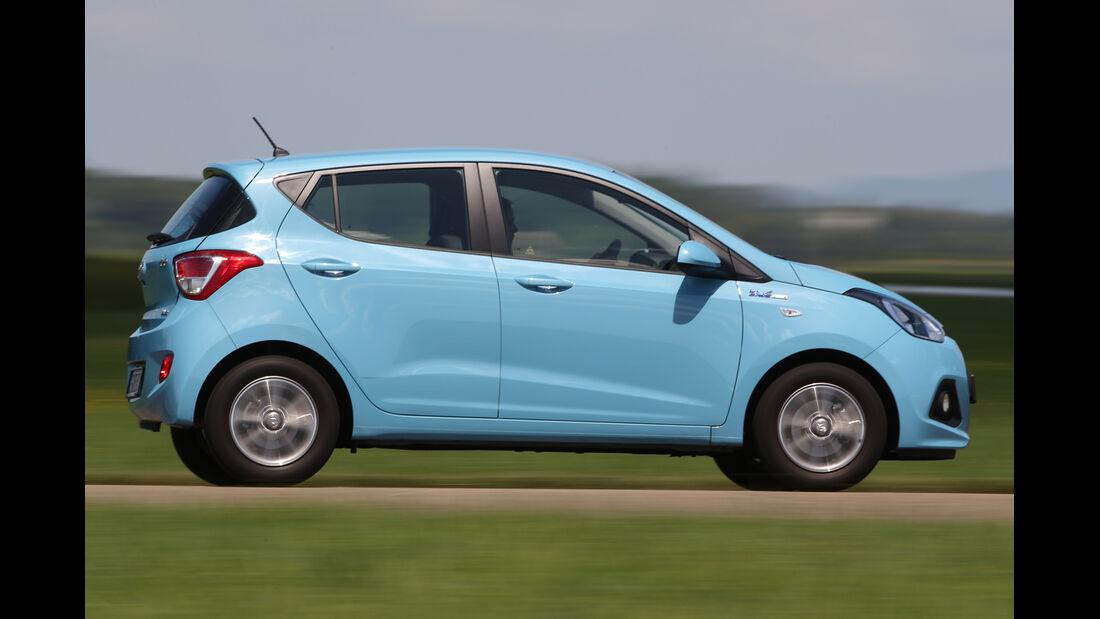 Hyundai i10 Blue 1.0 Trend, Seitenansicht