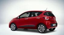 Hyundai i10 Facelift leaked