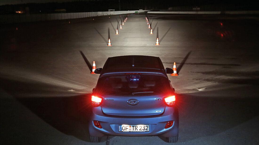 Hyundai i10, Lichtsysteme