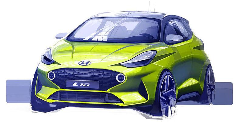 Hyundai i10 Teaser