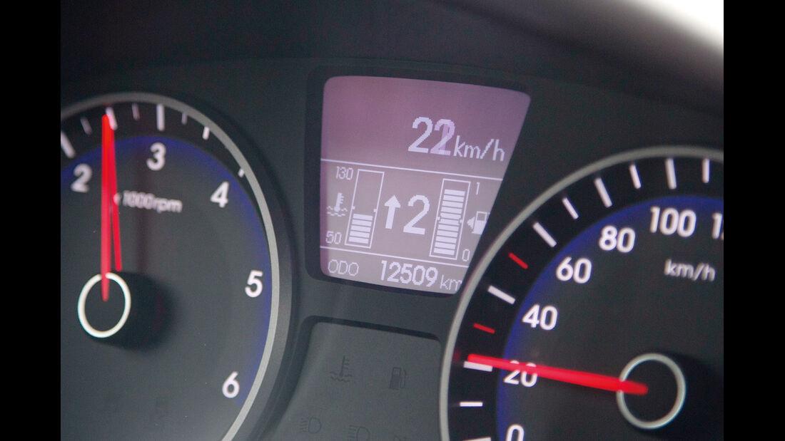 Hyundai i20 1.1 CRDi, Bordcomputer, Display