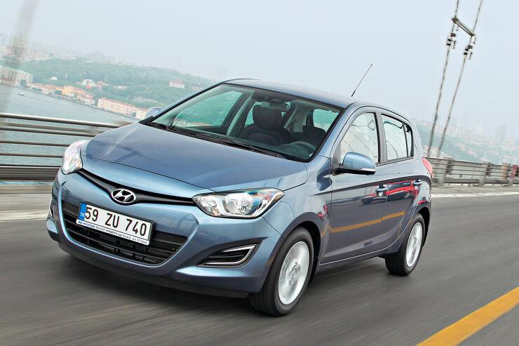 Hyundai I20 Verbrauch