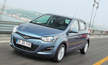 Hyundai i20 1.1 CRDi, Frontansicht
