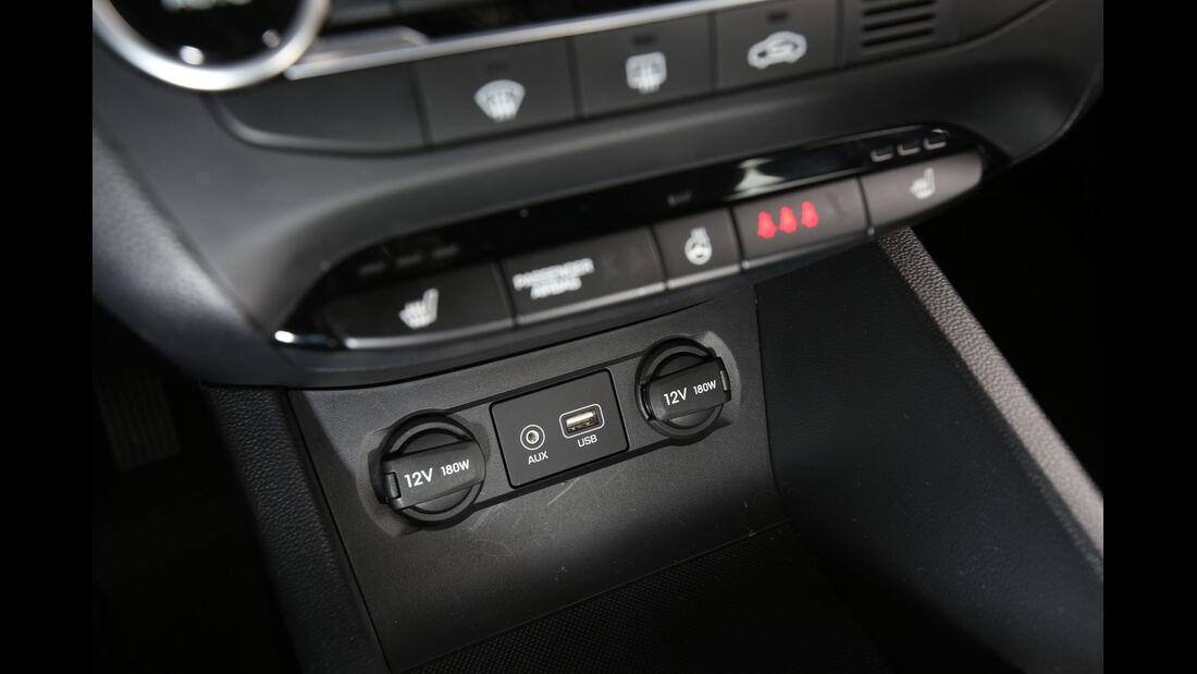 Hyundai i20 1.2, Bedienelemente