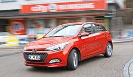 Hyundai i20 1.2, Frontansicht