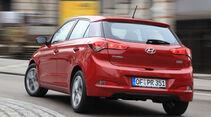 Hyundai i20 1.2, Heckansicht