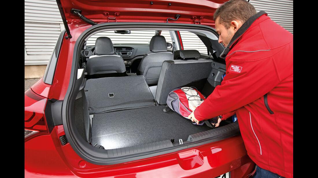 Hyundai i20 1.2, Kofferraum
