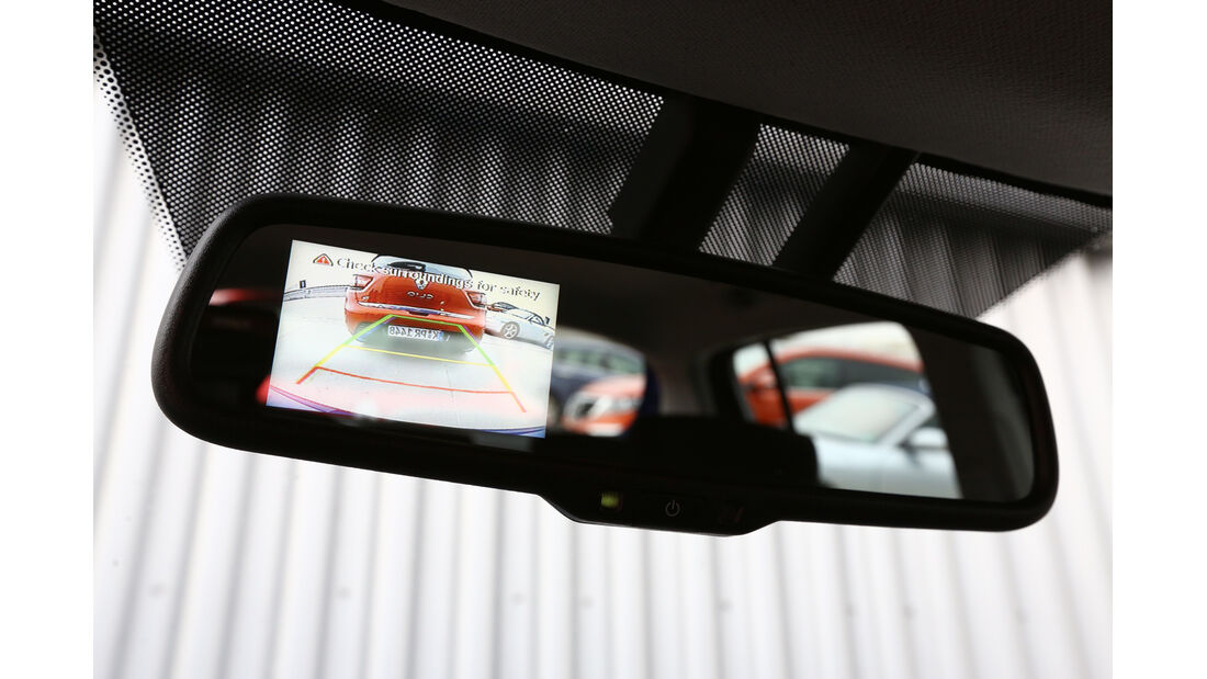 Hyundai i20 1.2, Rückspiegel