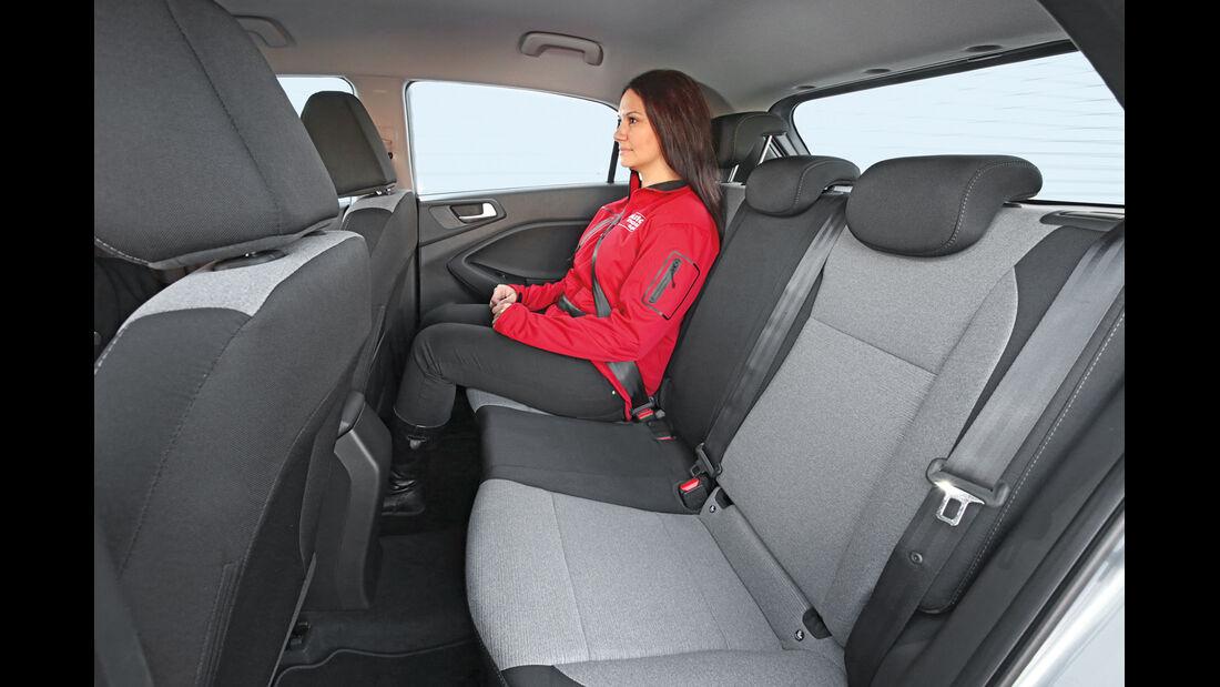 Hyundai i20 1.4, Fondsitz