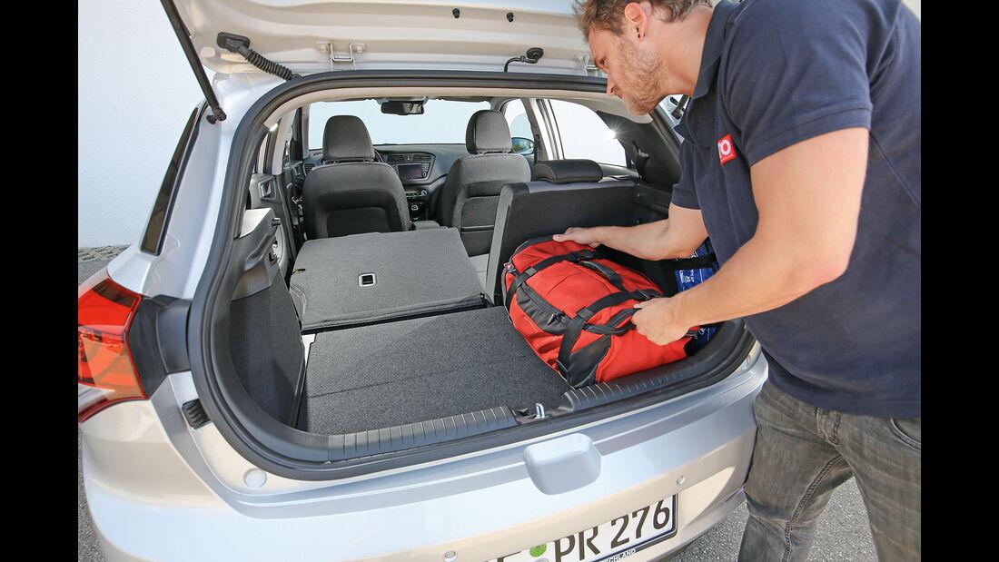 Hyundai i20 Blue 1.0 T-GDI Interieur