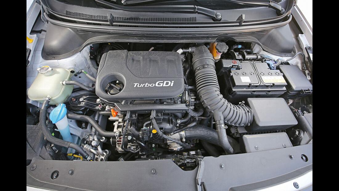 Hyundai i20 Blue 1.0 T-GDI Motor