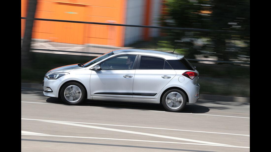 Hyundai i20 Blue 1.0 T-GDI Seite