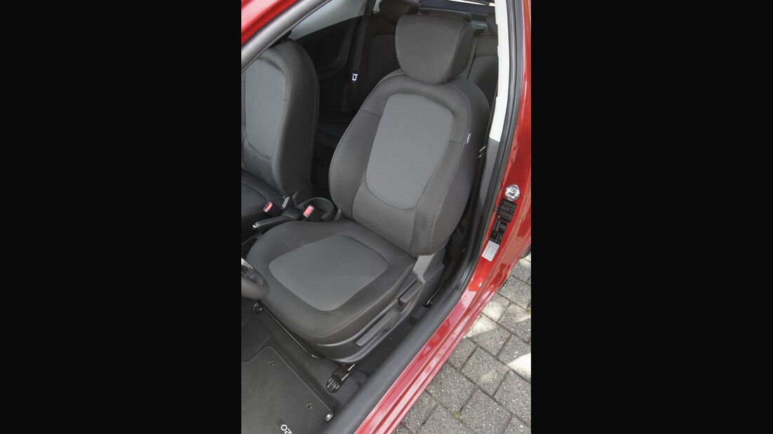 Hyundai i20 Blue 1.1 CRDi Trend, Fahrersitz
