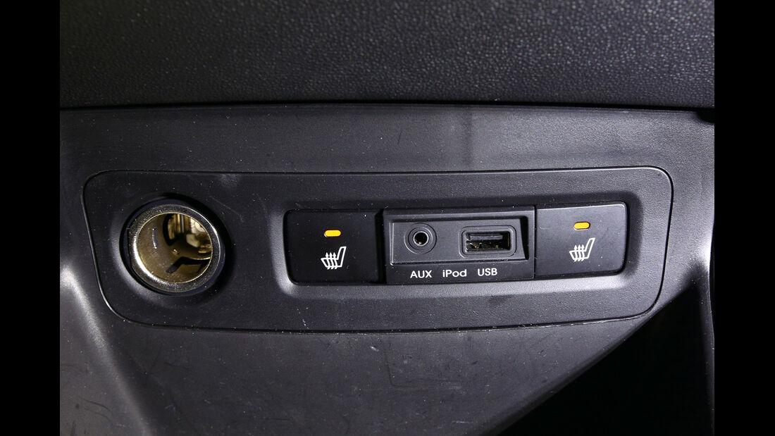 Hyundai i20 Blue 1.1 CRDi Trend, Sitzheizung